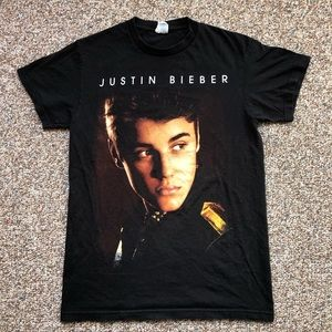 Justin Bieber t-shirt S Believe Tour Concert 2012